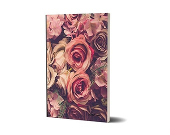 Journal Daily, Pink Roses, Lined Journal, 47A1523290374