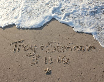 Write in the Sand at the Jersey Shore Beach Writings YOU PRINT