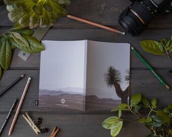 Laminate Notebook / Journal, Dry Land No 5958, Sketch Notebook, Writer's Notebook.