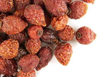 Dried Herb Rose Hips Fresh One Ounce bag