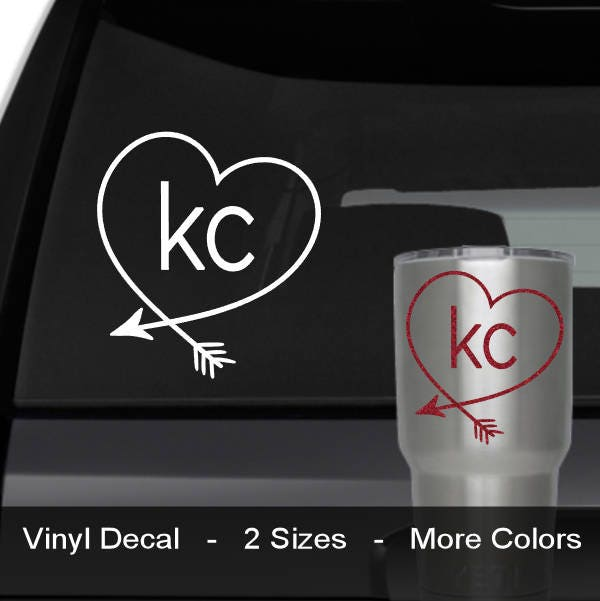 KC Decal KC Royals Decal KC Chiefs Decal Kansas City - Custom vinyl decals kansas city
