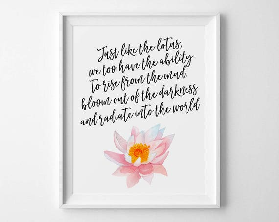 Buddha quote just like a lotus we too have the ability to mightylinksfo