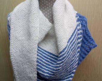 weaving colours blauw-wit