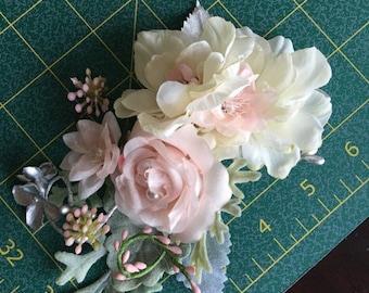 Reserved: floral clip