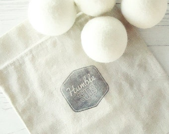 100% Wool Dryer Ball Set