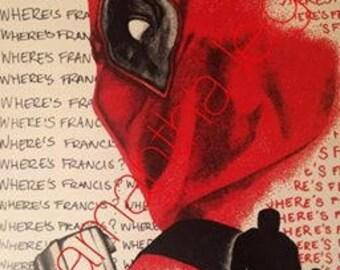 Deadpool Pointillism Print