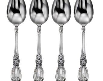 Oneida Stainless Wordsworth Four Teaspoons