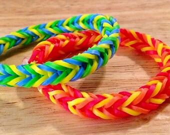 3 Color Fishtail Bracelet