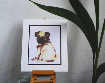 A Little Pug Print