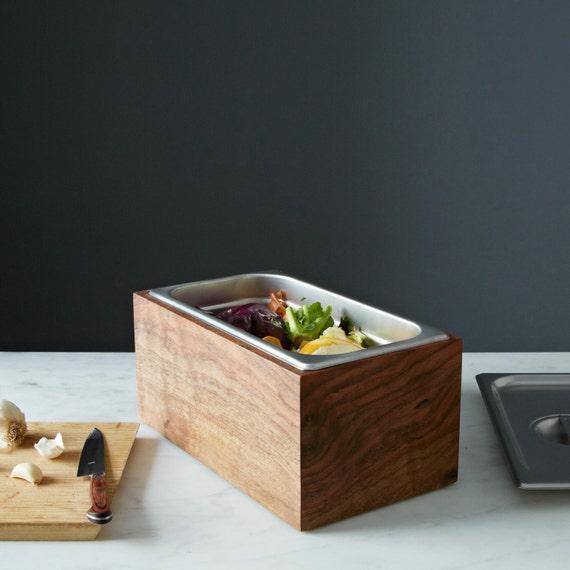 Bac à Compost Noaway Plan De Travail En Bois De Noyer