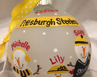 Steelers ornament Etsy