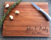 Custom Cutting Board, Wedding Gift,...