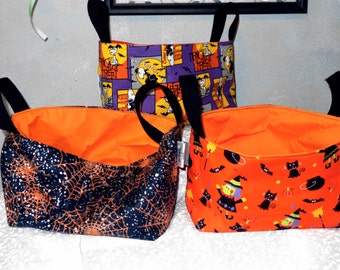 Halloween Fabric Basket