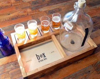 """Handcrafted Beer Making Kit - brew your own beer - in style. 1 Gallon """"Taster"""" Small-batch Brewing Kit"""