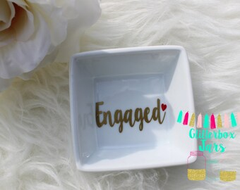 Engaged Ring Dish-Wifey for Lifey Tray- Wifey for Lifey-Wifey Gift-Engagement Gift