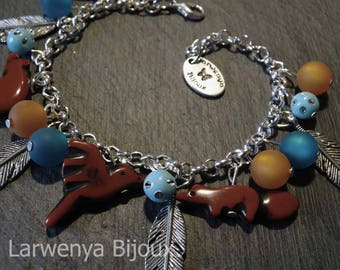 Silver charms - bracelets are the ancients