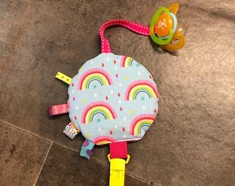 Tie and nipple Rainbow lollipop