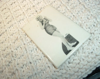 Collectible Jean Harlow Photo And Mirror