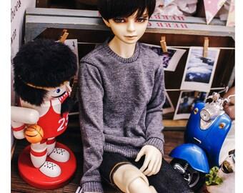 SD17 Boy Knit Basic MTM - Gray
