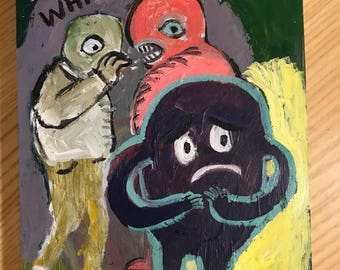 Gossip painting