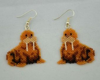 Walrus Earrings