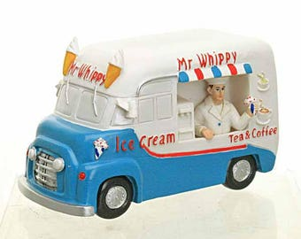 Mr. Whippy Ice Cream Van, Traditional Ice Cream Van, Fun Fairy Garden Accessory, Beach Themed Fairy Garden, The Fairy Garden