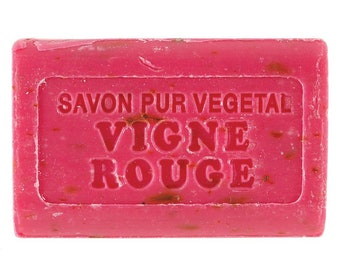 Vigne Rouge Marseilles scented soap