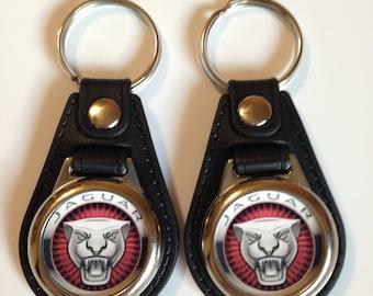 Jaguar keychain 2 pack  CLASSIC CAR