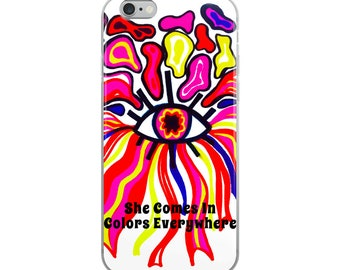Colorful iPhone Case, Abstract Colorful iPhone Case
