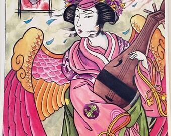 Spring geisha