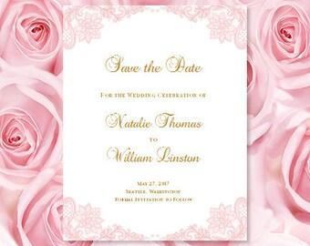 Navy Blue & Yellow Wedding Invitations Kaitlyn
