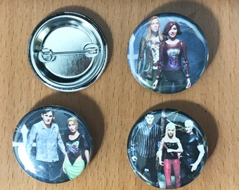 Buffy the Vampire Slayer Couples 1.25' Button Pack