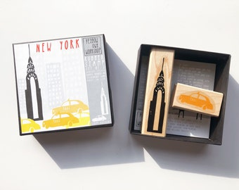 SALE! Yellow Owl Workshop NEW YORK Rubber Stamp Kit