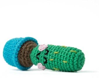 Cactus Cooper - Amigurumi Crochet pdf Pattern (EN & NL)