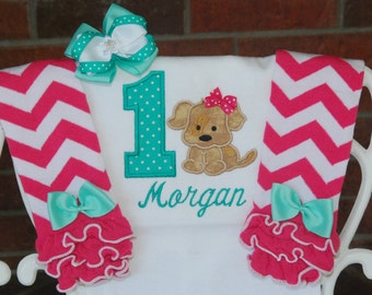 Puppy First Birthday Outfit! Baby Girl Dog Birthday Outfit! Doggie Birthday outfit/First birthday outfit/Dog Birthday/1st birthday outfit