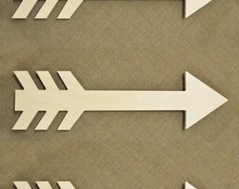 Wooden Arrow Sign - Arrow Wood Sign - Set of 3 Pieces - Wall Decor - Wooden Arrows - Wall Art - Wall Sign