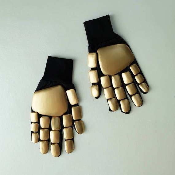 1:1 Scale Halloween Costume Prop, DJ Thomas Daft Punk Gloves, Daft Punk Cosplay, Home decor decoration