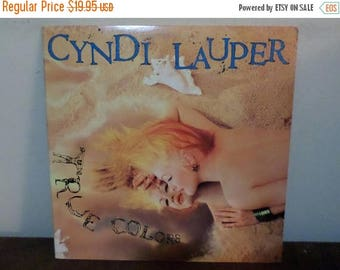 Save 30% Today Vintage 1986 Vinyl LP Record True Colors Cyndi Lauper Near Mint Condition 13896