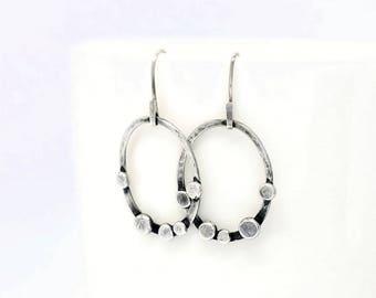 hoop earrings   bohemian jewelry   hoops   circle earrings   minimal jewelry   minimalist jewelry   minimal earrings   rustic jewelry   boho