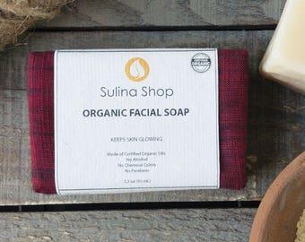 Organic Facial Soap