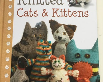 Knitted cats and kittens knittingpattern book by Sue Stratford published by Search Press ISBN 9781844488469 lovely giftidea for catlovers