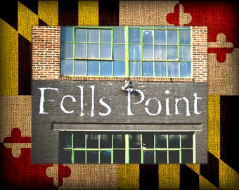 Fells Point on MD Flag