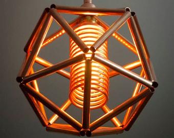 Industrial Steampunk Geometric Lamp #5