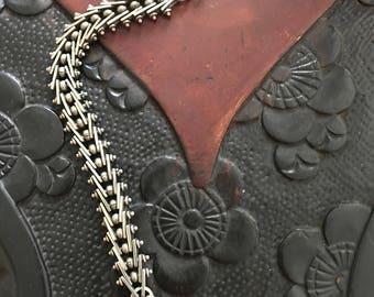 Coin Silver Bracelet