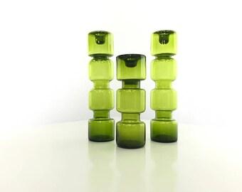 Riihimaki candle holders set of 3