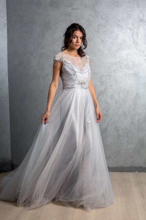 Ungewöhnlich Blaues Hochzeitskleid Ideen - Brautkleider Ideen ...