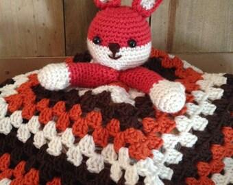 Felix the Fox Lovey Pattern