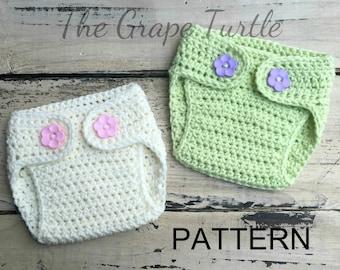 Crochet Diaper Cover PATTERN