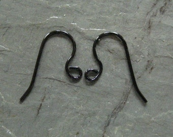 Ear Wires 6 Pairs   Handmade Short Shank Hypo Allergenic Ear Wires (Your Choice of Color)