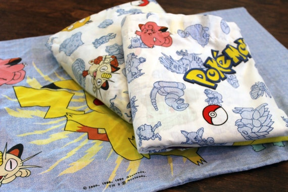 Pokemon Bed Sheet SET